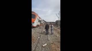 accident mortel 12 MORTS ET 46 BLESSÉS du train entre rabat et kenitra au maroc le 16 octobre 2018