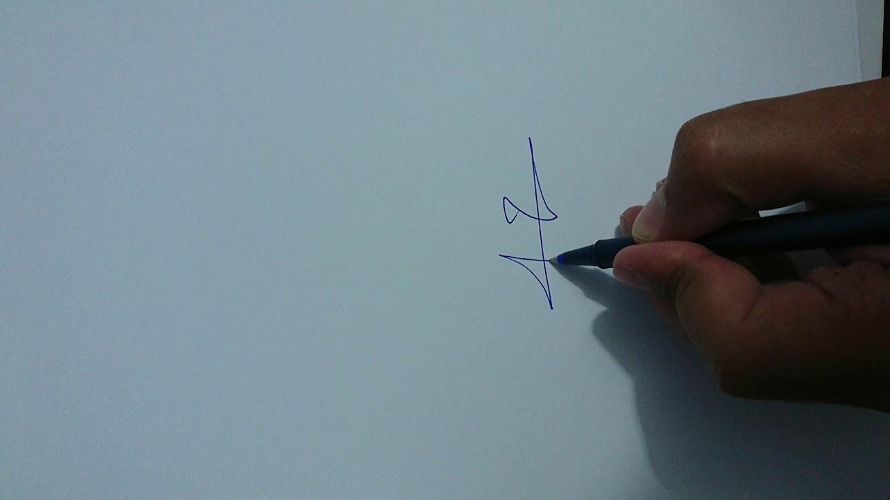توقيع باسم خالد Youtube