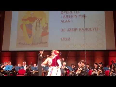 """Veli Telli duet - """"Arshin Mal Alan"""" at UNESCO 17.09.13"""