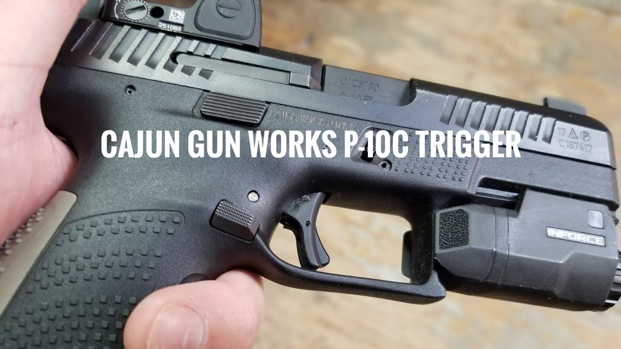 Cajun Gun Works P-10C Trigger - First Look