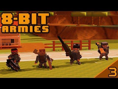 8-Bit Armies #3: Mr Steel your base |