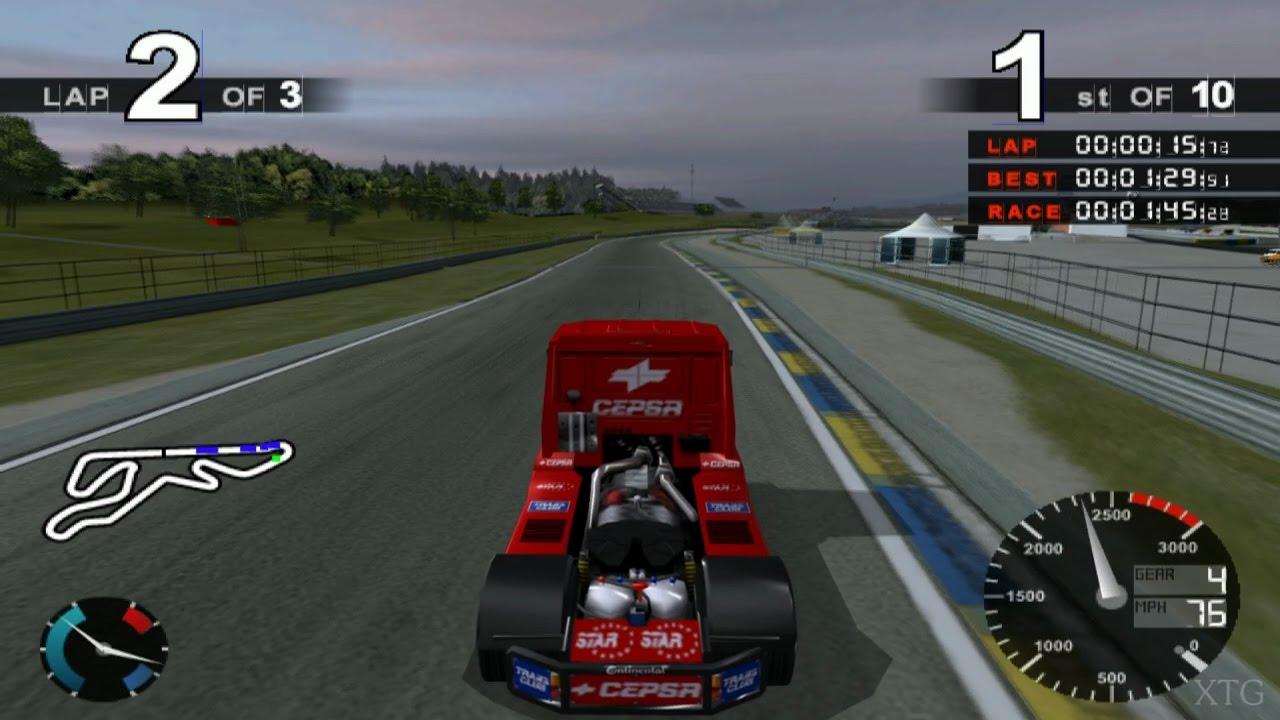 Super Trucks Racing PS2 Gameplay HD (PCSX2) - YouTube