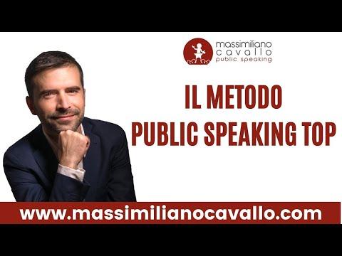 Immagine per Corso Public Speaking Top: il Metodo per superare la paura di parlare in pubblico