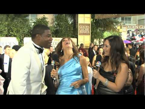 Golden Globes 2010 Red Carpet Tracy Morgan