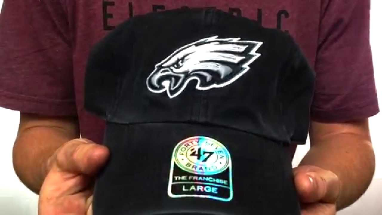 d170a9c9338 Eagles  NFL FRANCHISE  Black Hat by Twins 47 Brand - YouTube