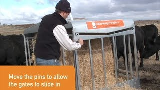Advantage Feeders Sliding Gates Hay Feeders
