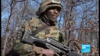 Voyage au centre de formation des Marines envoyés en Afghanistan