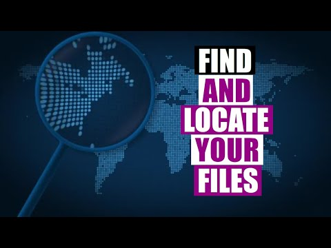 Find And Locate Your Files