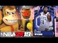 I turned into Donkey Kong for Kyrie Irving! NBA 2K19 - YouTube