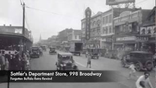 Forgotten Buffalo Retro Rewind, Sattler's Department Store Jingle