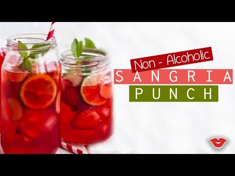 Non-Alcoholic Sangria!   Stephanie From Millennial Moms