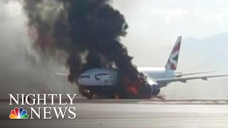 Pilot Who Saved Burning British Airways Flight Was Set to Retire | NBC Nightly News