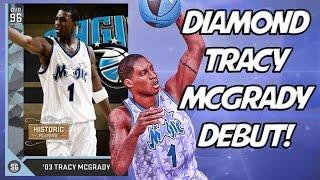 Diamond Tracy McGrady Debut! My Best Squad! Full Game Friday! NBA 2K16 MyTeam