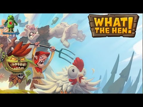 WHAT THE HEN (iOS / Android) Gameplay HD