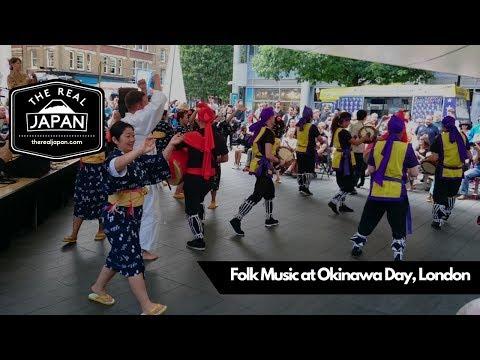 Folk Music at Okinawa Day, London, UK | The Real Japan |
