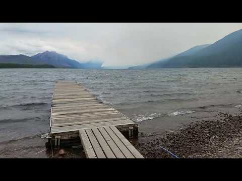 Glacier National Park: Sprague Fire Update 09/15/17: Fire Approaches Going To The Sun Road
