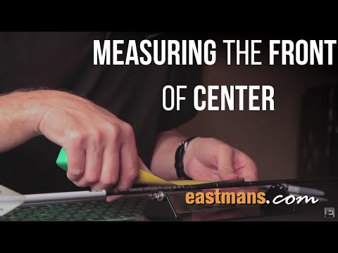 Measuring the Front of Center (FOC)