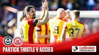 Jags come from behind to sink Accies at Firhill