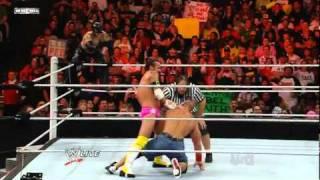 John Cena & Rey Mysterio vs CM Punk & R-Truth (Bret Hart Special Ref)