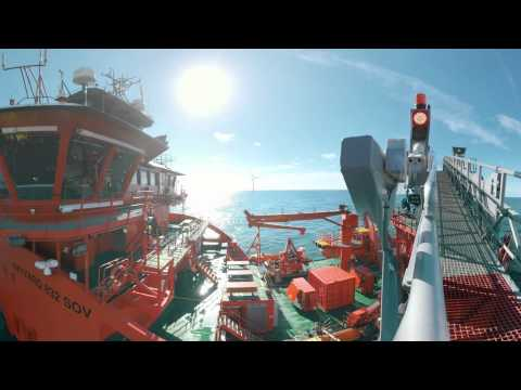 Experience Wind Power Offshore in 360°
