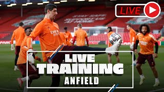 🔴📽️ Final training session ahead of the match against Liverpool