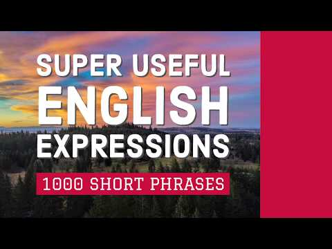1000 Super Useful English Expressions