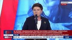 Beata Szydło: Opozycja nie jest przywiązana do programów społecznych