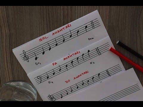 Muzikte Kulanilan Anahtarlar I Sol Fa Do Anahtarlari Nedir Youtube