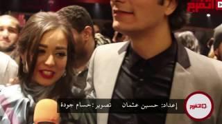 اتفرج | هبة مجدي تبارك لزوجها محمد محسن على
