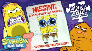 SpongeBob Goes Missing  Bikini Bottom Mysteries S3 Ep. 1