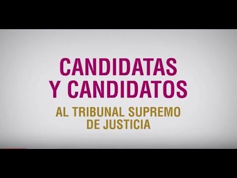 Candidat@s al Tribunal Supremo de Justicia