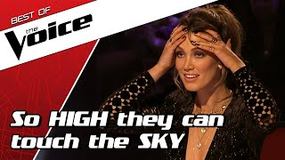 TOP 10 | HIGH NOTES that gave The Voice coaches GOOSEBUMPS
