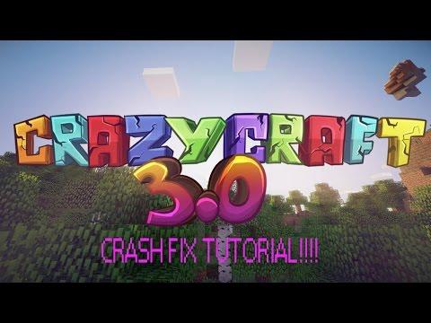 how-to-fix-crazy-craft-3.0-world-loading-crashing- -(-tutorial-)
