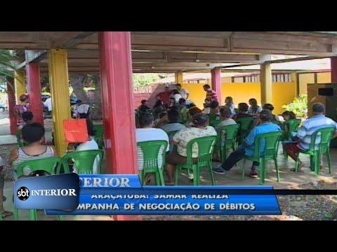 Araçatuba:SAMAR realiza Mutirão pra regularização de contas atrasadas