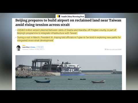 DR 18, South china morning post, Beijing prepares to build airport on reclaimed land near Taiwan ami