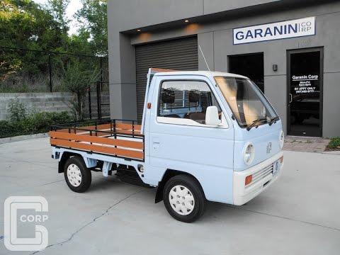 1988 Custom Honda Acty SDX HA1 Pick Up Flat Bed Kei Mini Truck. WOW!