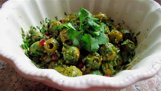 Marinated Olives | Zaytoon Parvardeh | زیتون پرورده  (side Dish)