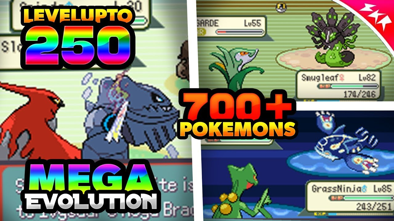 Best Completed Pokemon Gba Rom Hack With Mega Evolution 700