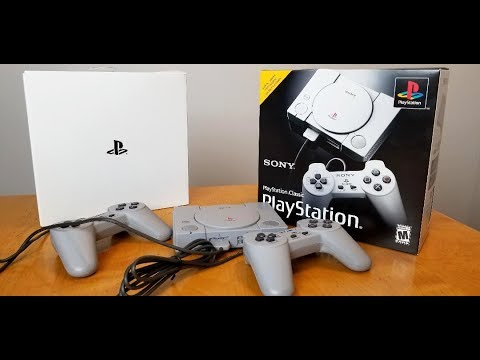 Sony Playstation Classic Edition Unboxing, Review, and Gameplay. - YouTube