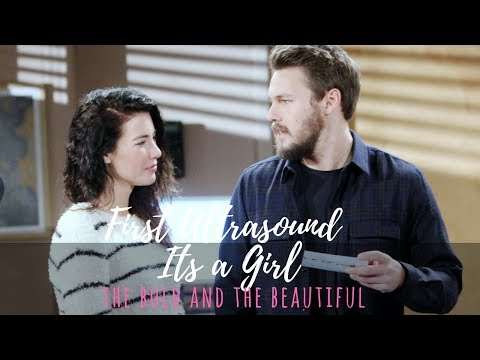 Steffy and Liam First Ultrasound - Its a Girl! - The Bold and the Beautiful