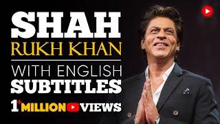 ENGLISH SPEECH   SHAH RUKH KHAN: Freedom to Be Yourself (English Subtitles)