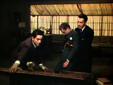 Image result for the rope murder scene  hitchcock