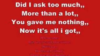 U2 - One [LYRICS+MP3 DOWNLOAD]