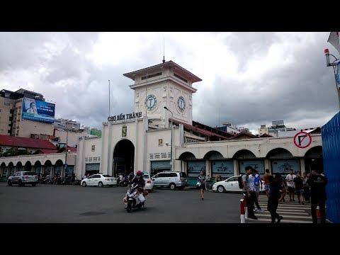 Ben Thanh Market - Chợ Bến Thành   Travel in Saigon - HoChiMinh City 2017