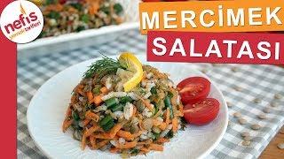 Yeşil Mercimek Salatası Tarifi - çok lezzetli ve pratik bir tarif