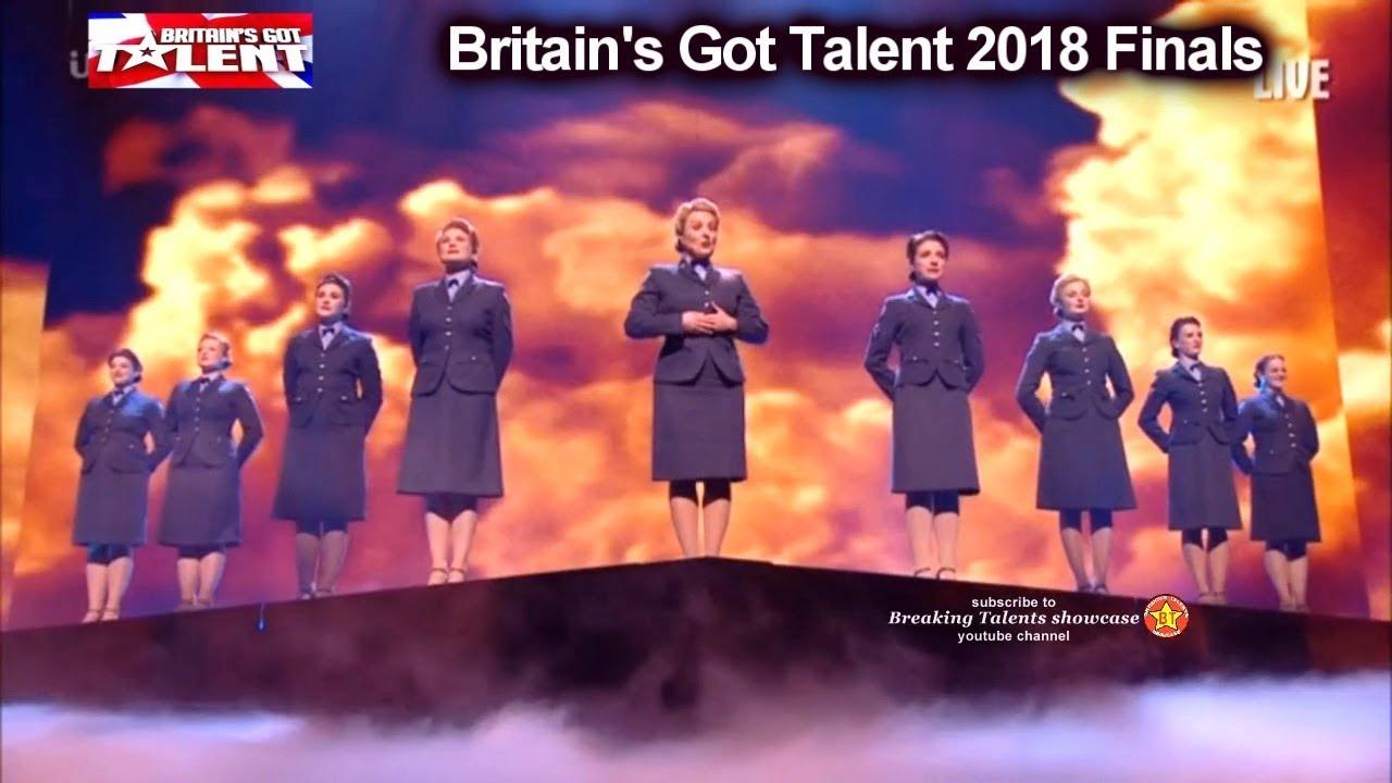 D-Day Darlings War Time Choir BEAUTIFUL PERFORMANCE Britain's Got Talent  2018 Final BGT S12E13
