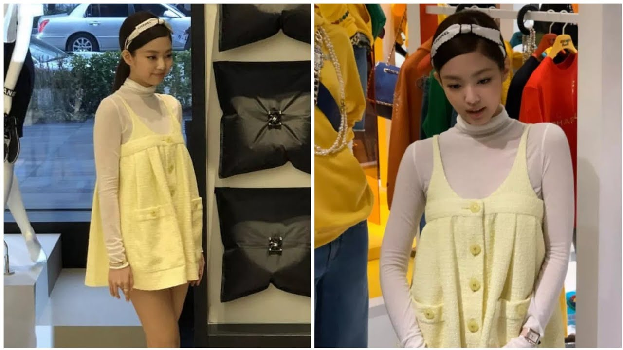 78154db5a55b0 BLACKPINK Jennie attended CHANEL Pharrell Williams Capsule Collection  Launch Event