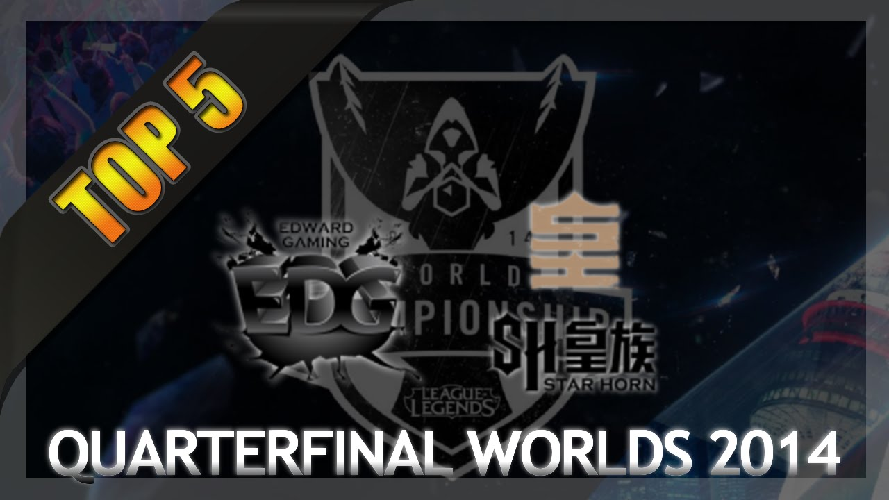 LMHT : Top 5 pha giao tranh hay nhất của SHR vs EDG