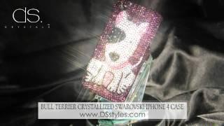 Bull Terrier Crystallized Swarovski Iphone 4 Case  From Dsstyles.com