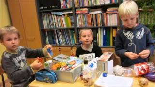 Pasaules lielākā mācību stunda Skujenes pamatskolā